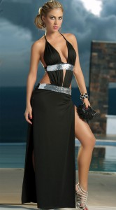 Long sequin detail gown highlight your life  166x300 Long sequin detail gown highlight your life