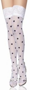 Do you know White Polka Dot Fashion Stocking  102x300 Do you know White Polka Dot Fashion Stocking