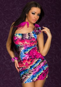 One shoulder Mini Dress is perfect for women 210x300 One shoulder Mini Dress is perfect for women