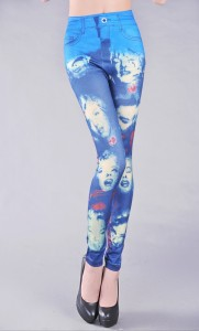 Monroe Smile leggings Blue are very hot in 2012 181x300 Monroe Smile leggings Blue are very hot in 2012