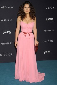 Salma Hayek glamour 9nov15 getty b 592x888 200x300 4 Ways to Wear Pink this Spring