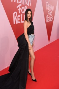 GettyImages 686388254 199x300 Kendall Jenner Wore a Crop Top With a Train on the Cannes 2017 Red Carpet