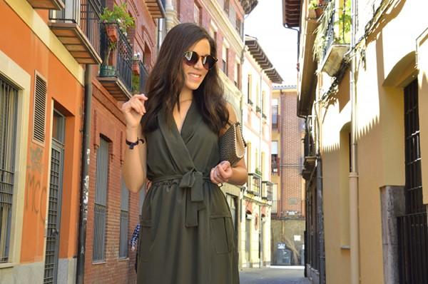 vestido camisero verde spring look trends gallery ootd 22 e1565516679871 ARMY GREEN